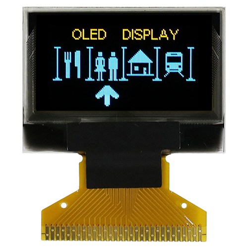 "Dual Color 0.96"" OLED WEO012864MX"