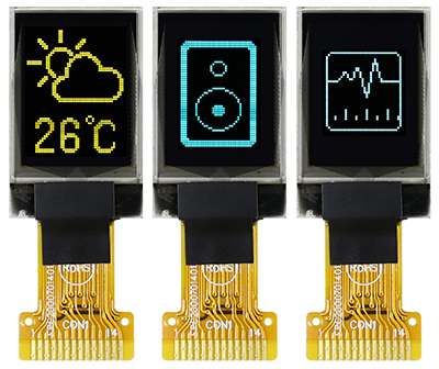 Winstar Display -  0.71 inch OLED WEO004864A