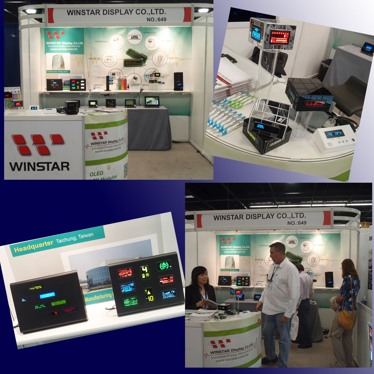 MD&M WEST 2014 USA - Winstar Display