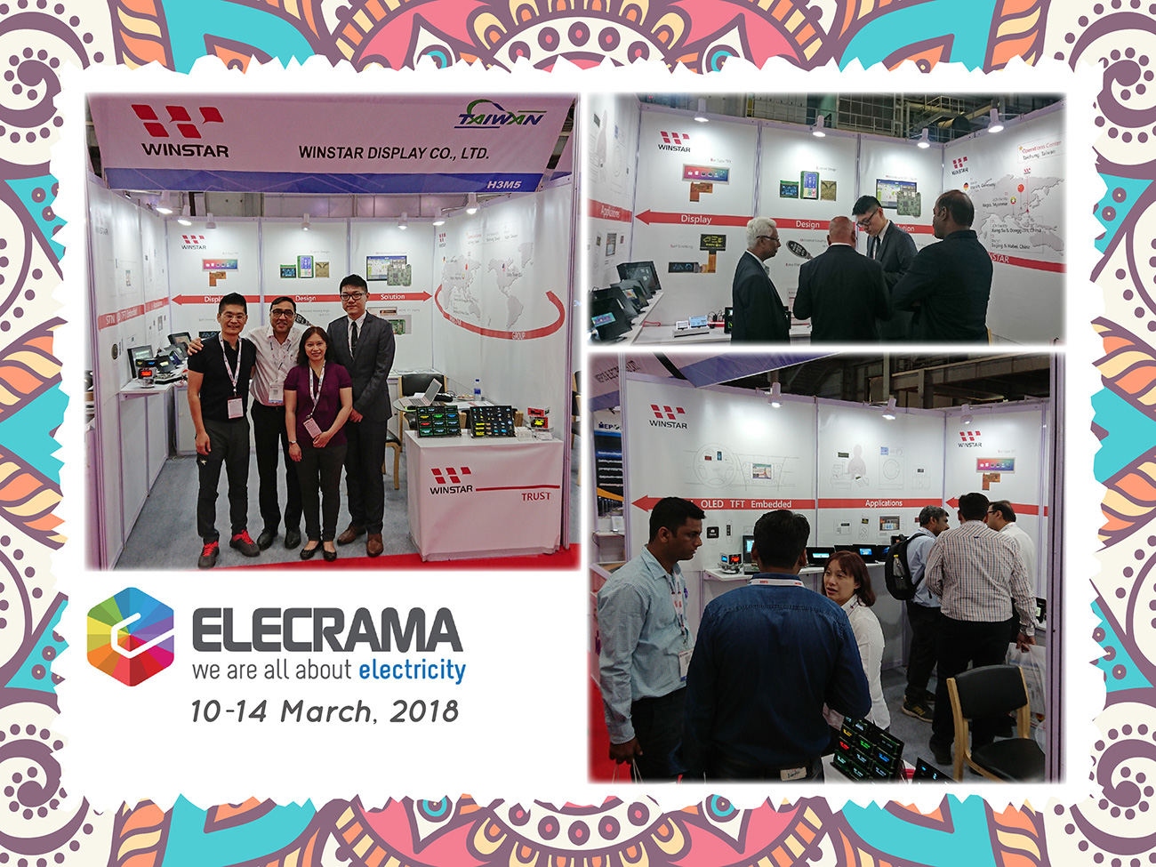 ELECRAMA 2018, India - Exhibition Highlights - Winstar