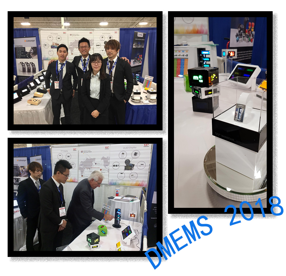 DMEMS 2018, CA - Exhibition Highlights - Winstar