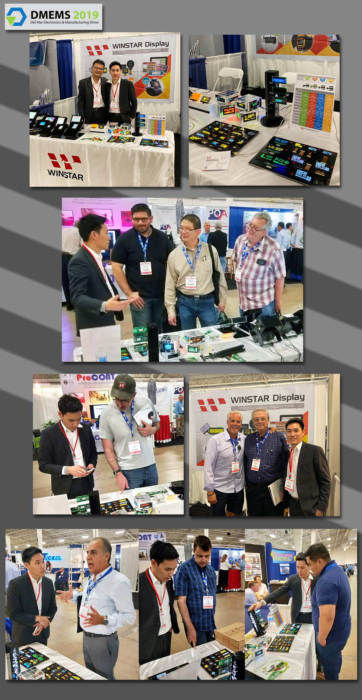 DMEMS 2019, CA - Exhibition Highlights - Winstar Display