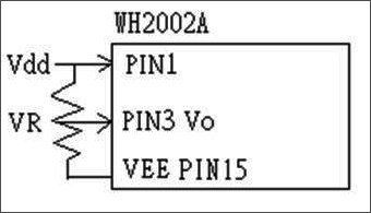 When using VEE, the VO is the differrential voltage between VDD and the VEE.