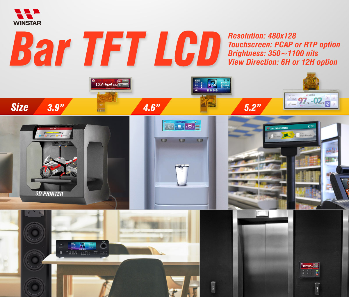 Bar TFT - Application