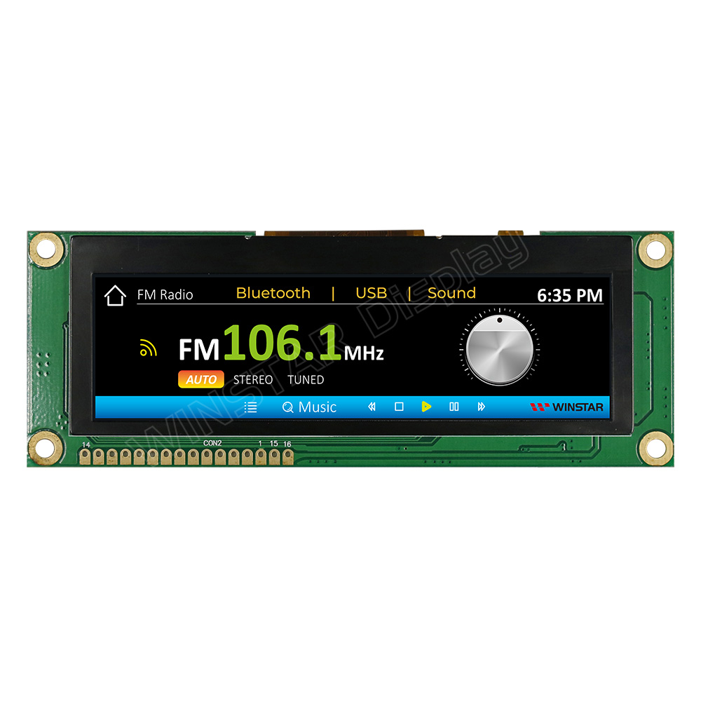 3.9 inch 480x128 TFT MCU LCD Display