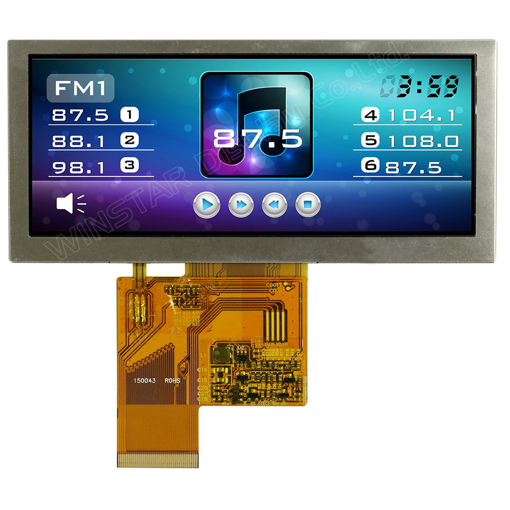 4,6 Bar Type TFT Farbdisplay