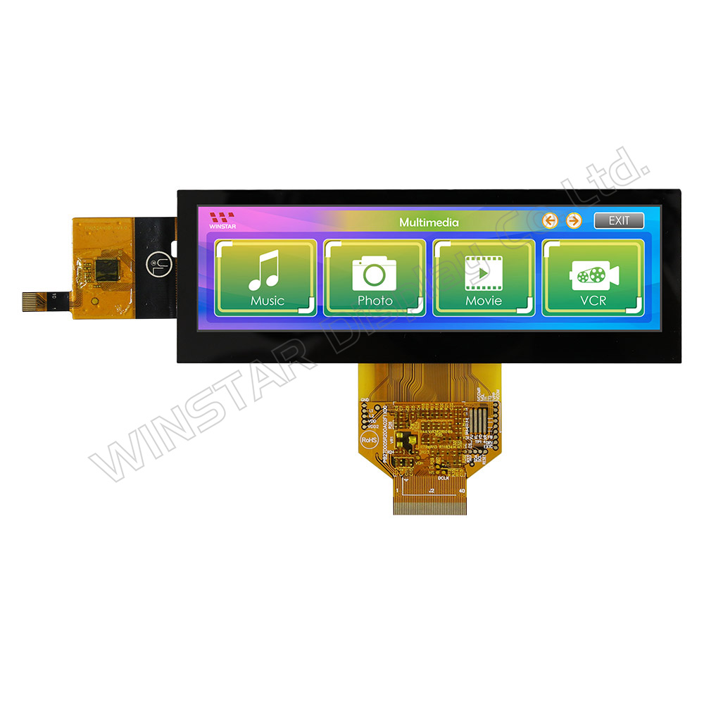 5,2 Bar Type Kapazitiver Touch TFT Farbdisplay