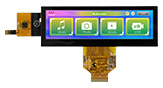 5.2 Bar Type Capacitive Touch Screen TFT LCD