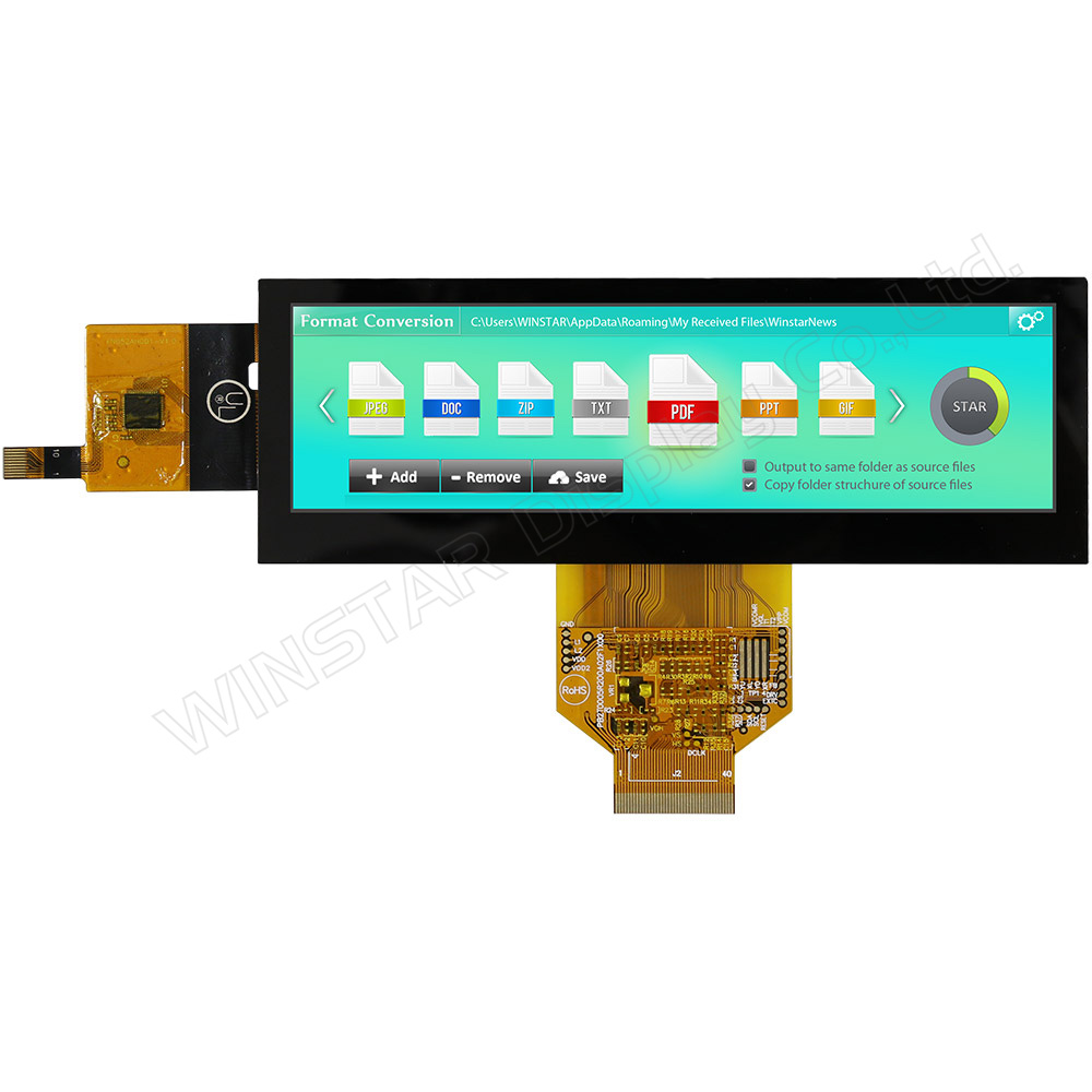 TFT LCD Bar 5.2 (Pannello Touch PCAP)