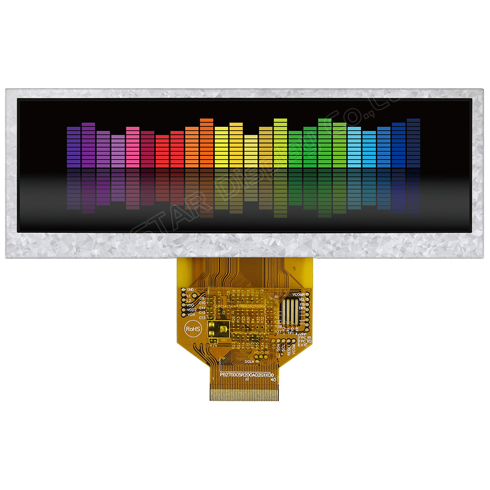 5.2 inch Color Bar TFT LCD Module