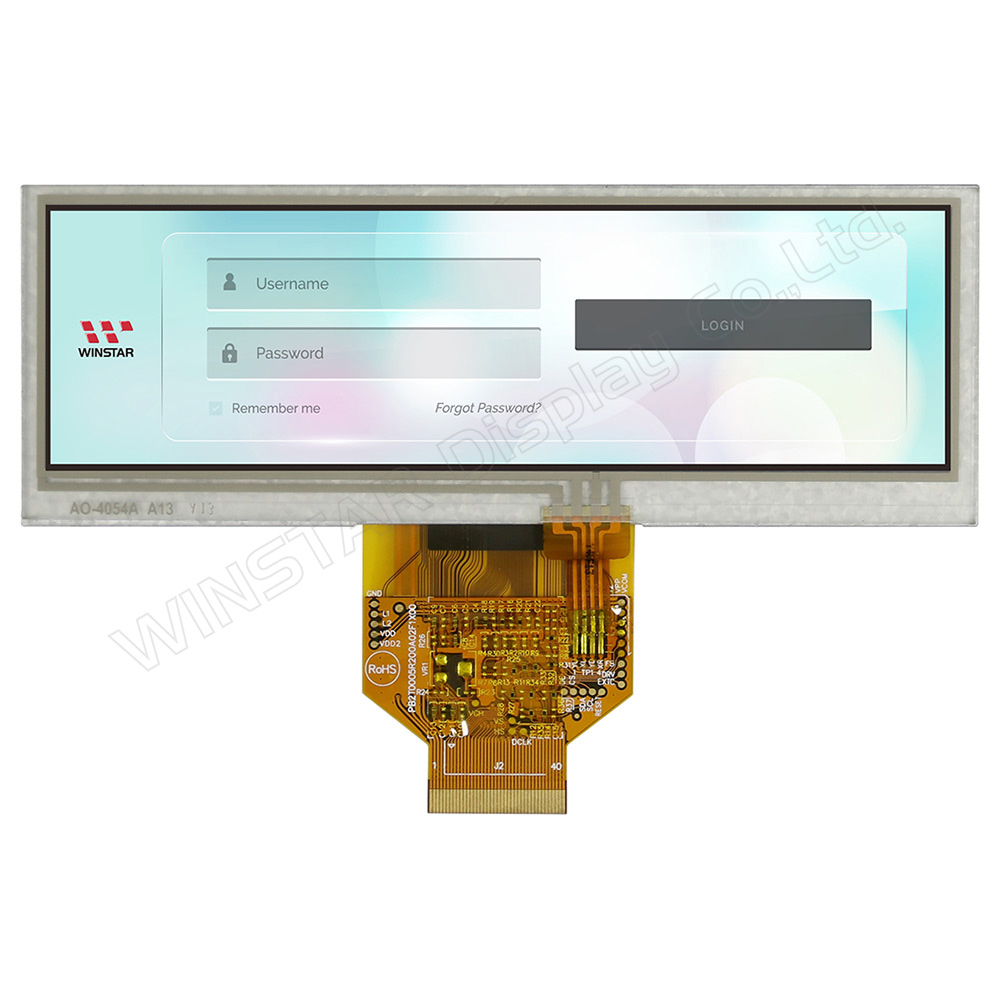 5,2 Bar-Typ Resistiven Touch TFT Farbdisplay