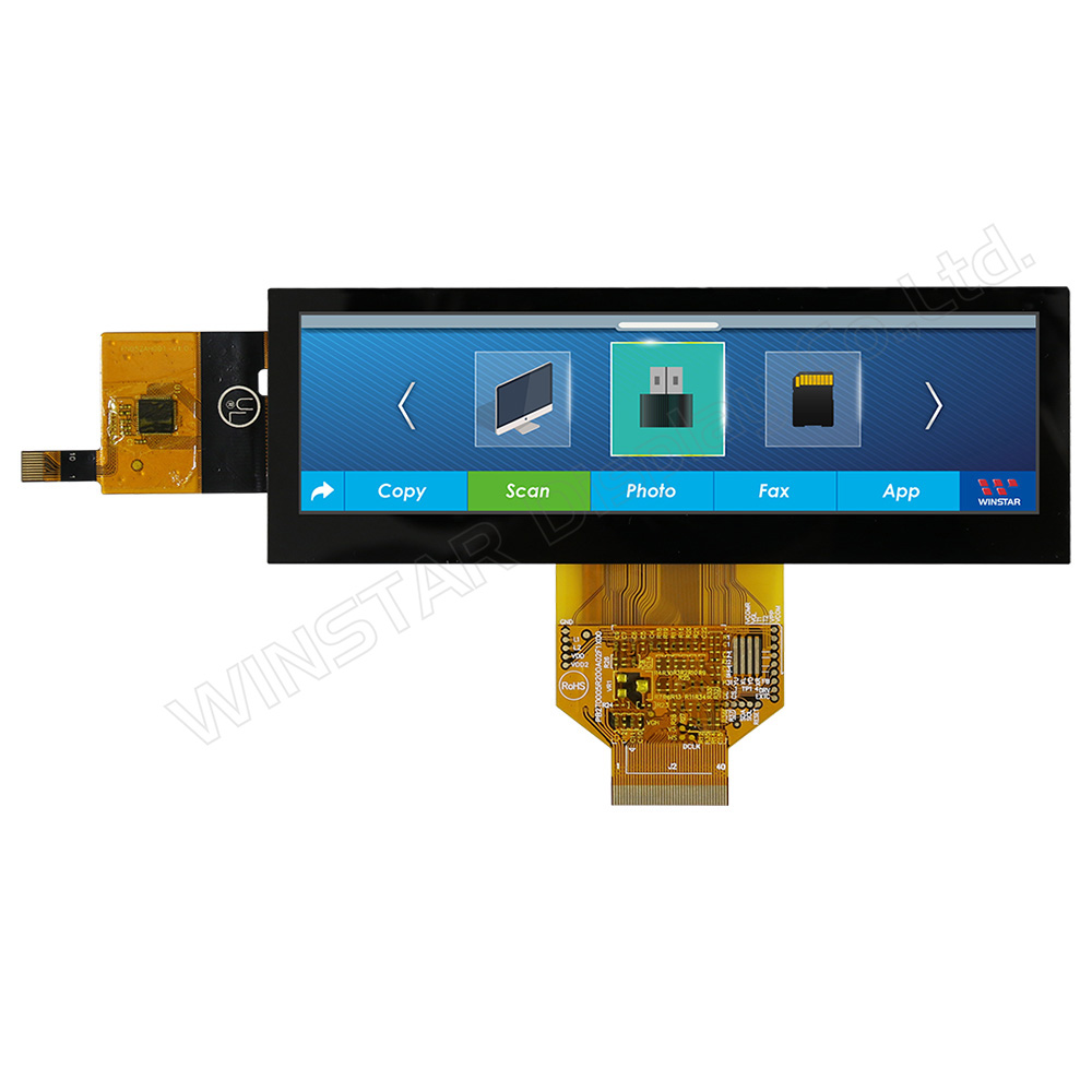 5,2 Bar-Typ Kapazitiver Touch TFT Farbdisplay