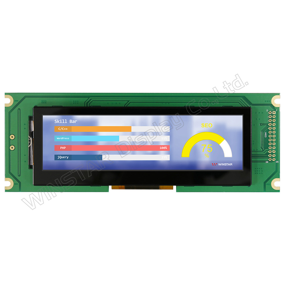 5,2 Bar Type TFT Farbdisplay