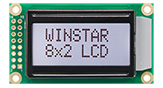 Cимвольные LCD модули 8x2 - WH0802A1