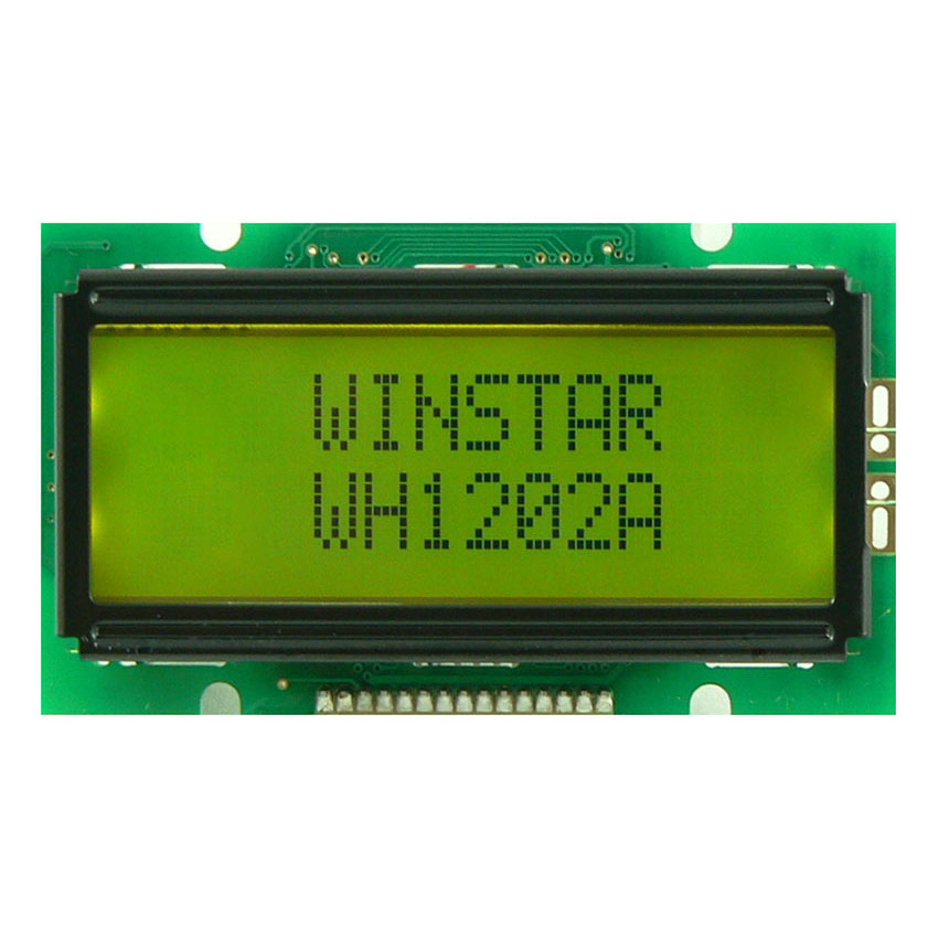 12x2行 キャラクタ LCD - WH1202A