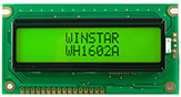 Dot Matrix LCD Display Module 16x2, LCD Display 1602A - WH1602A