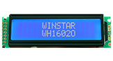 Mono LCD Character Display 16x2 - WH1602O