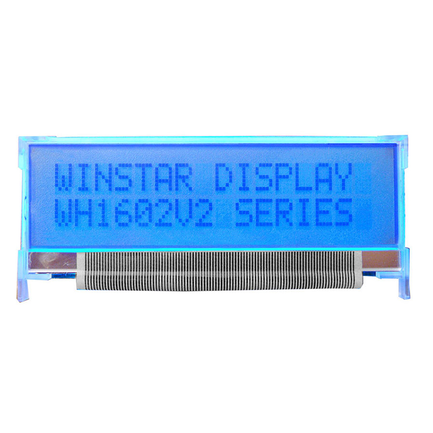 16x2 LCD Character Display, 16x2 Character Display - WH1602V2