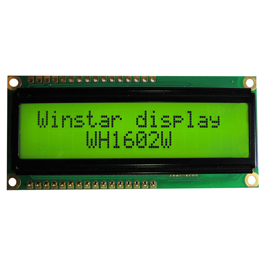 16x2 Character LCD Display - WH1602W