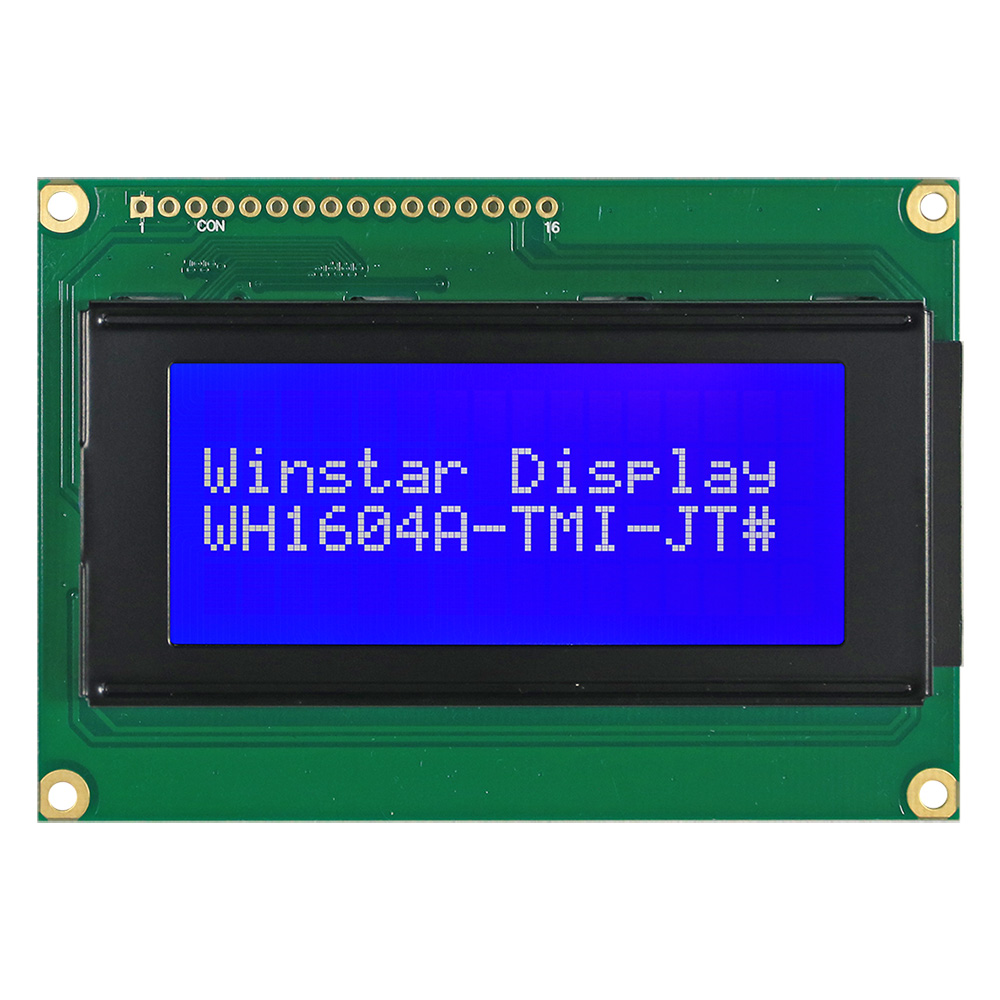 Cимвольные LCD модули 16x4 - WH1604A