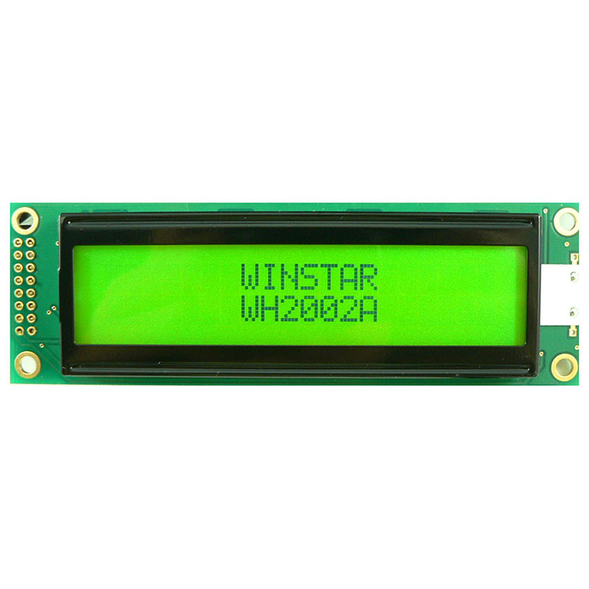 Display LCD a Caratteri, LCD Alfanumerici 20x2 - WH2002A