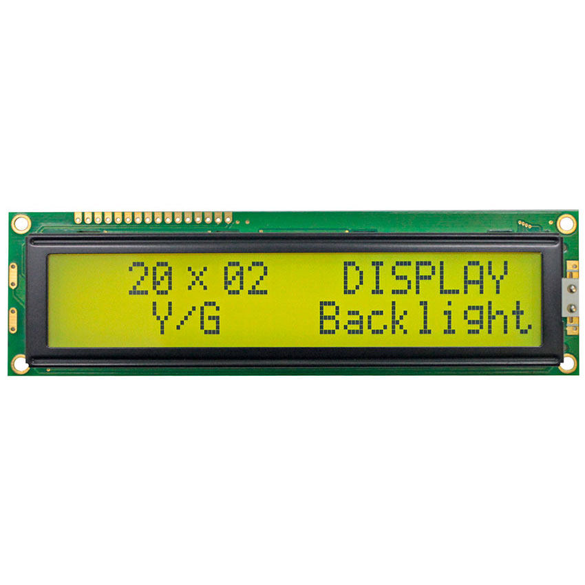 Display LCD a Caratteri, LCD Alfanumerici 20x2 - WH2002M