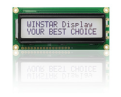 LCD Character Displays, Character LCD Display Module