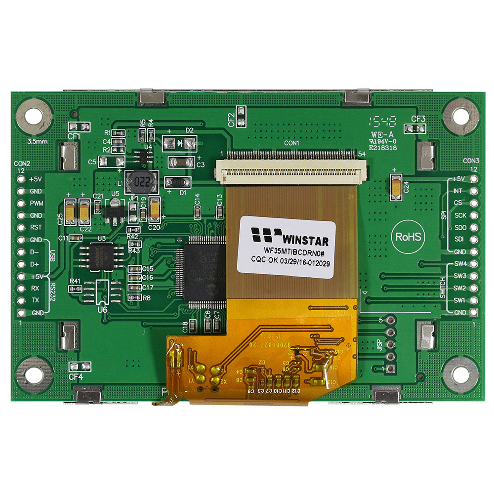 Display LCD TFT 3.5 Tutto in uno