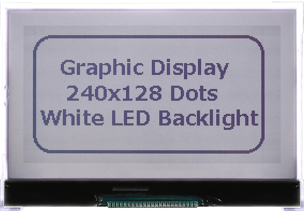 LCD Matrix Display 240x128 - WO240128A