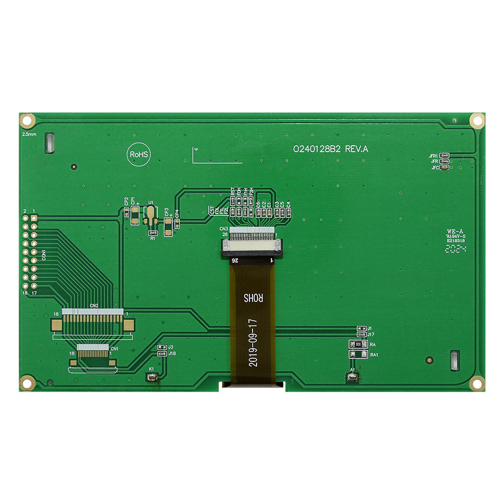 Chip on Glass  LCD Module 240x128 with PCB - WO240128B2
