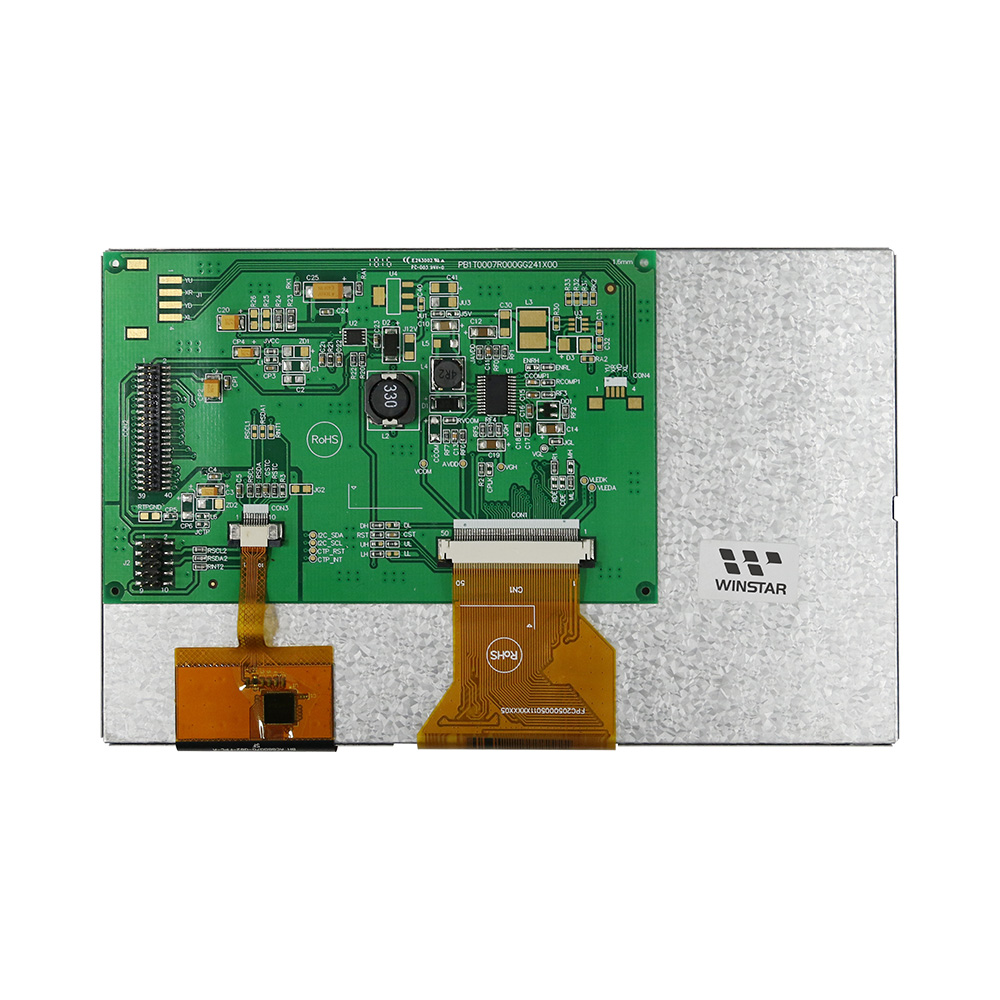 Linux Embedded Board, 7 Linux Embedded Board TFT Display (PCAP Interface)