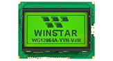 Monochrome Graphic LCD, Graphic LCD 128x64, Winstar WG12864A
