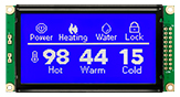 128x64 Graphics LCD Display - WG12864M