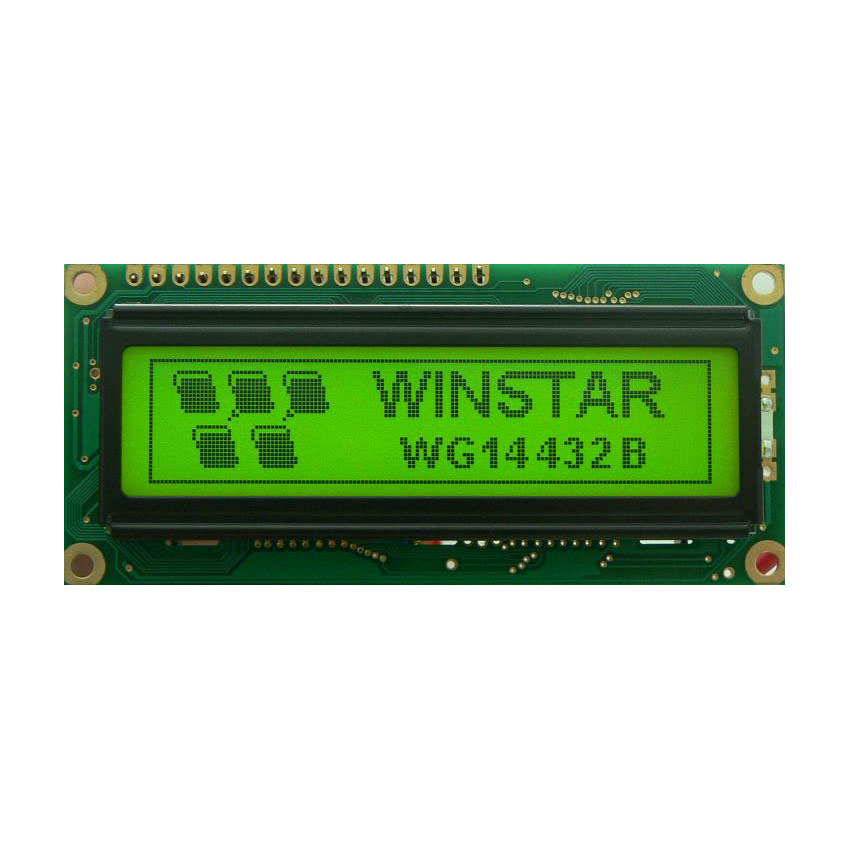 144x32 Graphic LCD Display - WG14432B