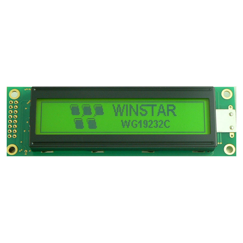 192x32 Graphic LCD Displays - WG19232C