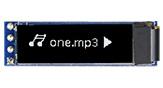 0.84インチ96x16 COG+PCB有機ELモジュール