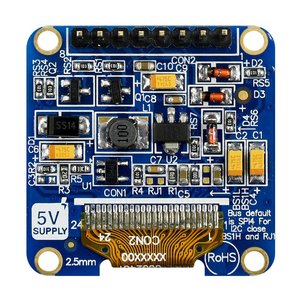 Pantalla Tipo OLED 1 1 pulgada, 96x64, SSD1327, SPI, I2C