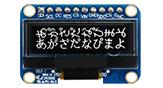 1.04インチ 128x32 グラフィック液晶有機(COG+PCB) - WEA012832E