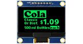 COG+PCB 128x64 OLED 有機EL液晶 - WEA012864A