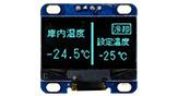 1.28 インチ COG+PCB 有機ELモジュール 128x64 - WEA012864L