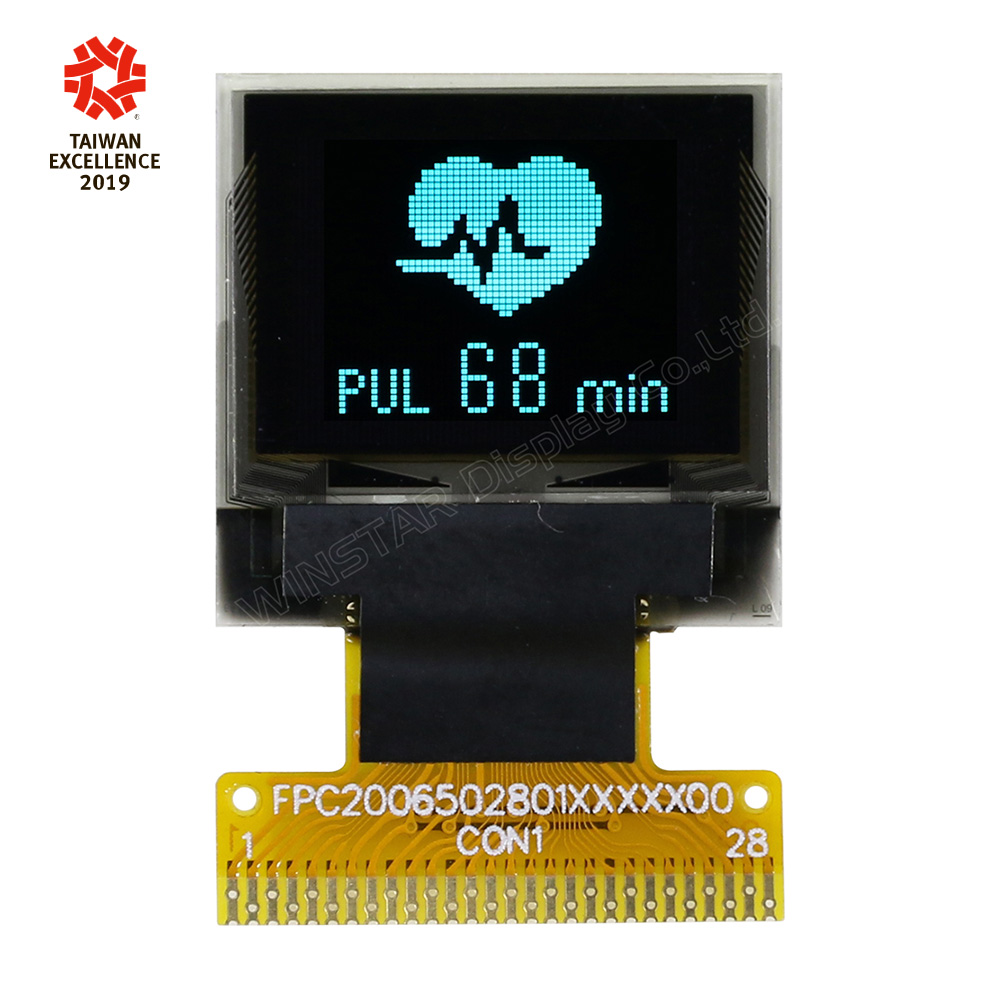 0.66 OLED Mini Display, Mini OLED Screen, 64x48 pixel OLED Display