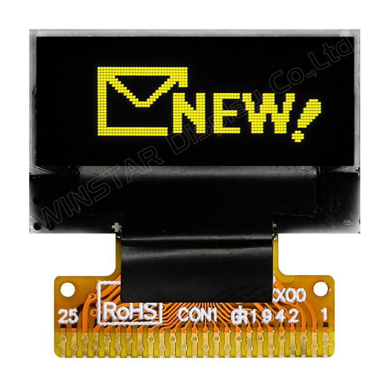 0.68 inch COG Graphic Display with Hotbar FPC
