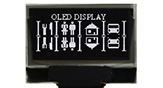 128x64 OLED Display, 128x64 OLED LCD, OLED 128x64, OLED Display 128 x 64 - Hotbar FPC - WEO012864C