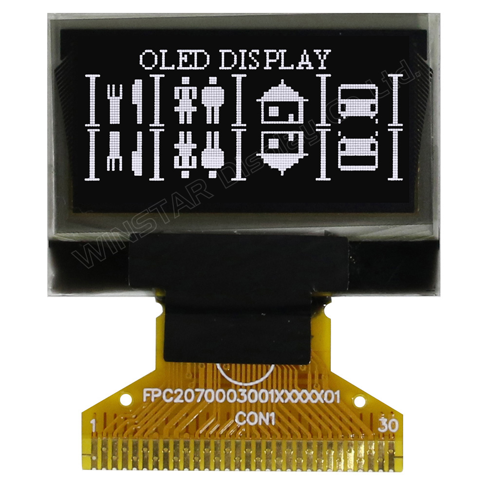 128x64 OLED Display, 128x64 OLED LCD, OLED 128x64, OLED Display 128 x 64 - WEO012864C