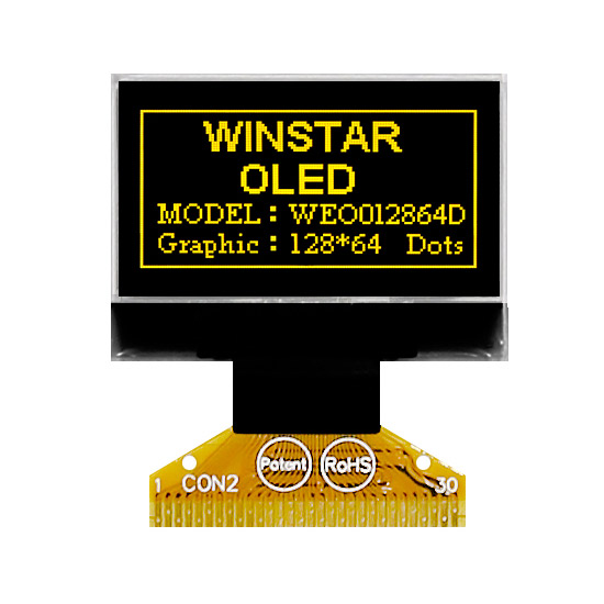 0.96 Moduli Display OLED Grafici - WEO012864D