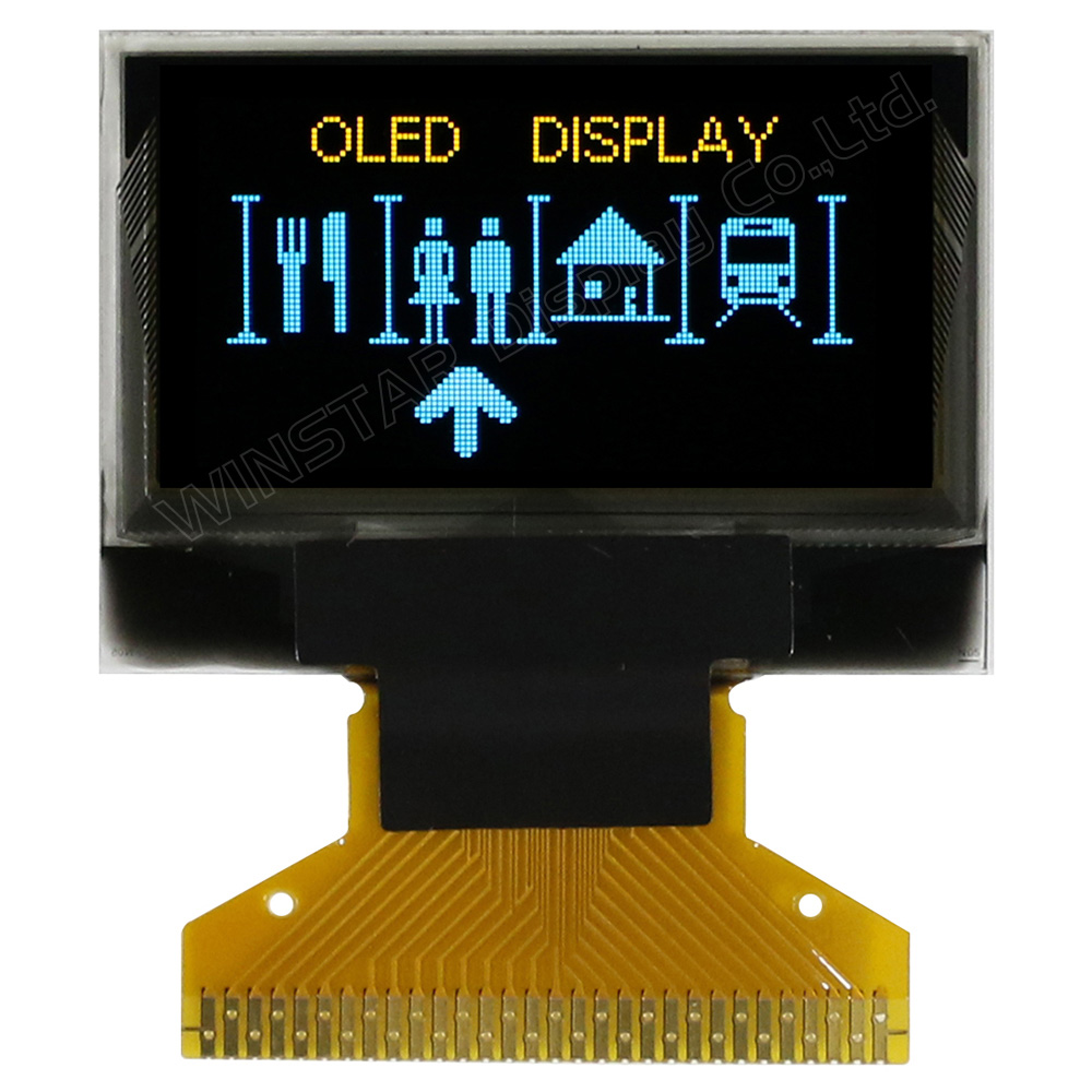 oled technology Oled displays for extreme ambient use at low or high temperatures wide viewing angle and fast response self emitting technology suitable behind glass available in differerent colors yellow, white, blue, red and green with spi and i²c interface for 33v supply available in short term and long-term available.