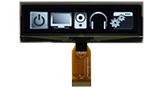 3.55 インチ 256x64 COG 有機ELディスプレイ グレースケール機能をサポートする - WEO025664D