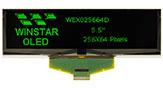 5.5インチ256x64 COF グラフィック有機EL液晶 - WEX025664D