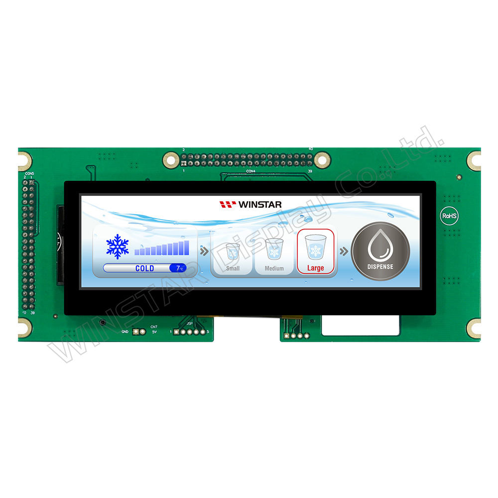Display LCD a barre, PCAP, 5.2 pollici (For Raspberry Use)