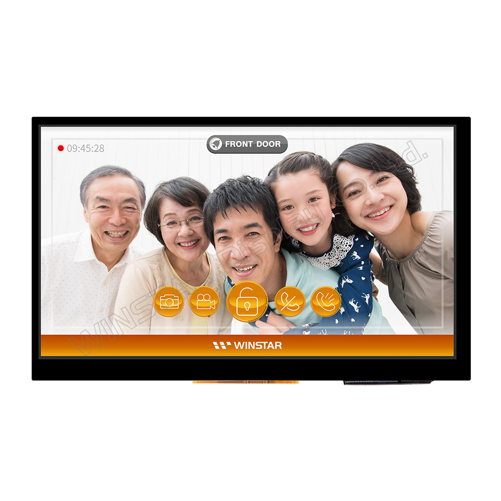 "For Small HDMI Signal 7"" Capacitive touch TFT LCD Display - WF70A2TIFGDHGV"
